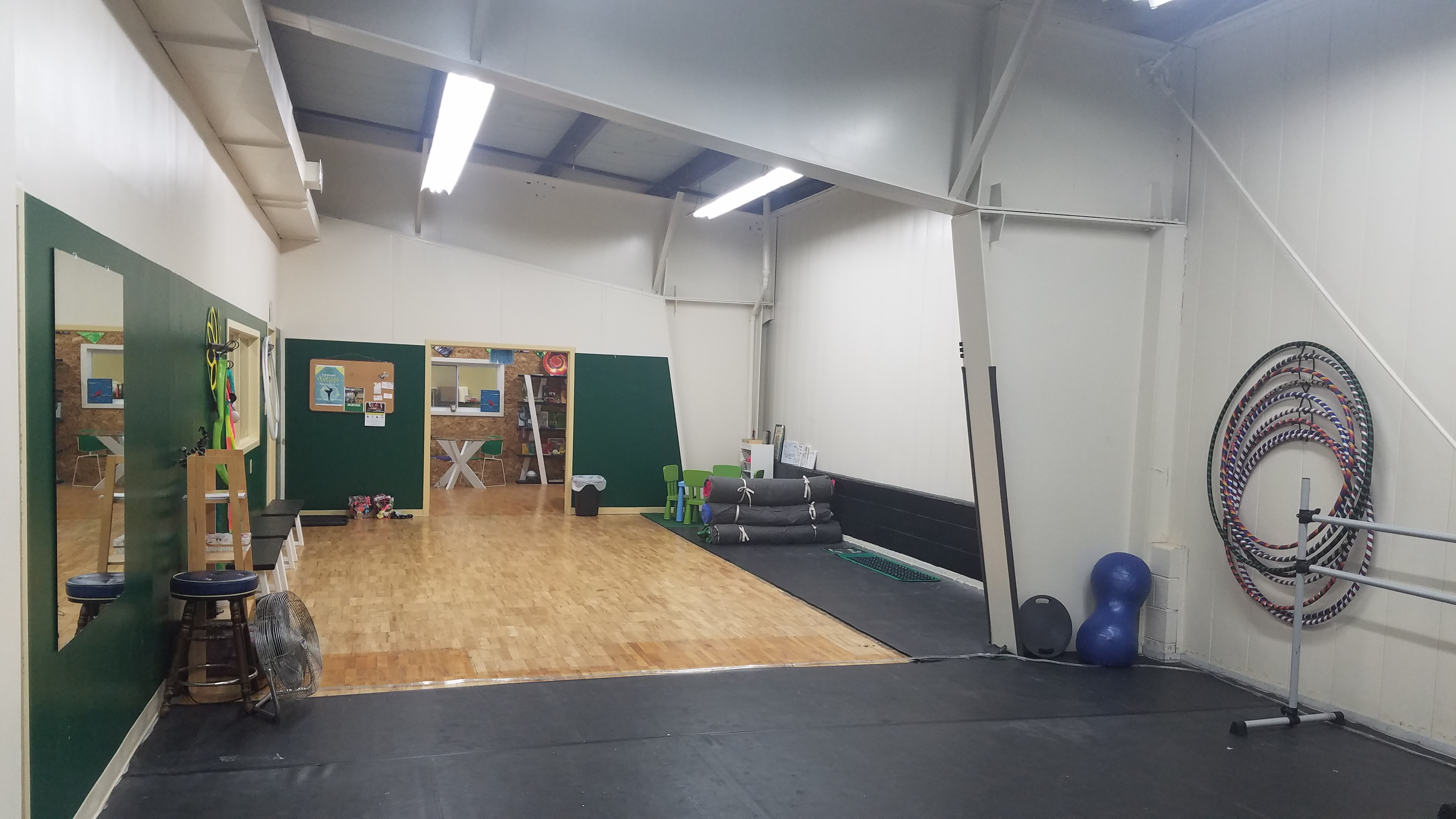 Hour studio rental the artist s gym