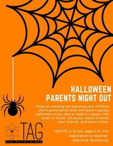 halloween parents night out