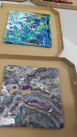 finished pour